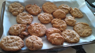 Almond Lime cookies