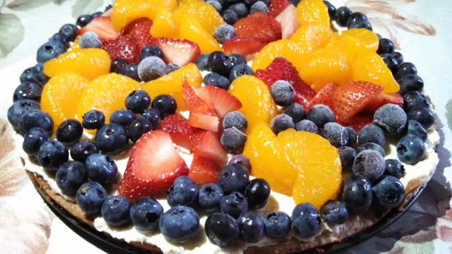 Fruit Pizza, top